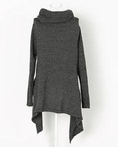 Fashionable Turtleneck Long Sleeve Sweater For Women