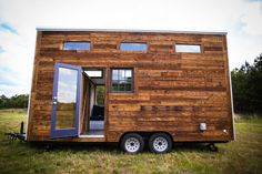 Lamon Luther Tiny House Wood