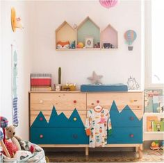 mommo design: IKEA HACKS FOR KIDS - Tarva dresser