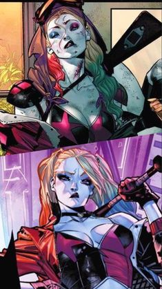 Harley Quinn Comic, Joker And Harley, Cool Works, Hq Marvel, Batman Universe, Dc Comics Art, Superhero Movies, Detective Comics, Aquaman