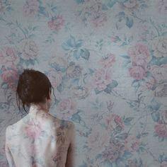 "wallflower (2010) - 8x8"" fine art print. SaraTeresa via Etsy #fpoe"