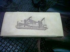 Laser branding thenic on pouch customizing