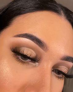 Dope Makeup, Baddie Makeup, Edgy Makeup, Makeup Eye Looks, Beautiful Eye Makeup, Eye Makeup Art, Eyebrow Makeup, Eyeshadow Makeup, Simple Eyeshadow Looks