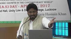 Dr. Arshad Jafri speaking at Ali Day Symposium on 8 April, 2017
