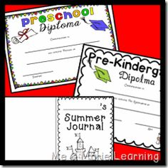 Preschool Graduation Pack!