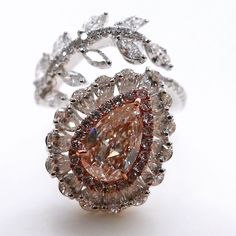 Pink Diamond Ring #greatdiam#gia#ncdia#Hongkong#magnificiant#finejewels#pinkdiamond#pinkdiamonds#rare#ring#jewel#jewelry#jewellery#diam#diamond#diamonds#nature#ncdiacolorgram