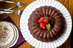 Chocolate Yogurt Bundt Cake | Post Punk Kitchen | Vegan Baking & Vegan Cooking