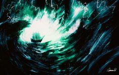 ArtStation - Any port in a storm, Andrea Guardino