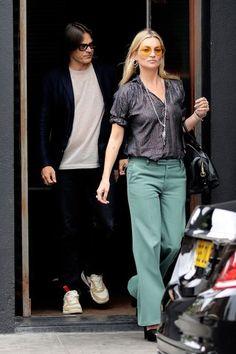 Kate Moss and Mario Sorrenti in Moy Atelier Sunglasses #moyatelier #moy #Moysunglasses #tintedeyewear #eyewear #trend #katemoss #vogue