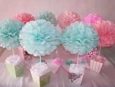 Paper Flower Backdrop, Paper Flowers, Paper Decorations, Birthday Decorations, Girl Baby Shower Decorations, Diy Arts And Crafts, Unicorn Party, Flower Crafts, Baby Shower Parties