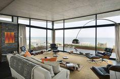 Psicomagia Residence by Estudio Martin Gomez Arquitectos in Uruguay.   #Living Room