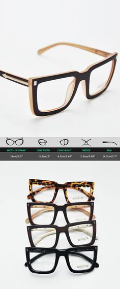Mens Uber Chic Arrow Accent Fashion Glasses By Guylook.com