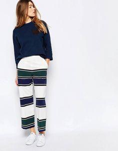 Wood wood - Lisa - Pantaloni a righe 💚