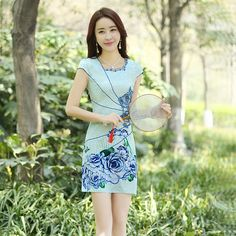 chinese clothing newspaper print dress https://www.ichinesedress.com/
