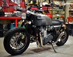 """Kawasaki Z1300cc. """"El Diablo"""" - RocketGarage Cafe Racer"""