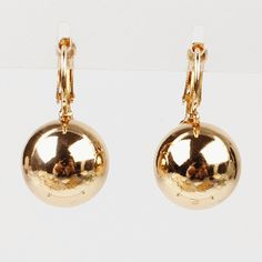 New Style Party Gift 18k Gold Plated Shining Gold Seashell Pearl Drop Earrings Jewelry For Women Free Shipping Wholesale | Price: US $2.12 | http://www.bestali.com/goto/2039567047/10