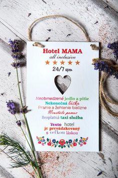 Tabuľka Hotel MAMA