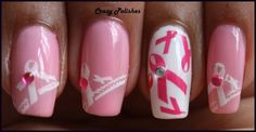 Crazy Polishes: Pink Friday- Breast Cancer Awareness Inspired Nails: http://crazypolishes.blogspot.in/2012/10/pink-friday-breast-cancer-awareness.html