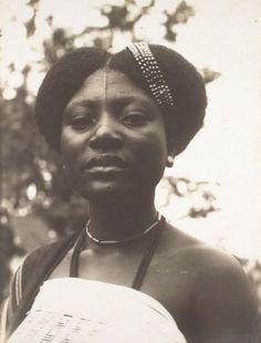Yoruba Woman 1880. wow she is exquisite.