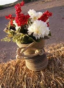 Burlap Centerpieces Bing Images Wedding Ideas Pinterest