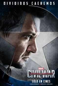 Cine PREMIERE | Posters de personajes de Capitán América Civil War