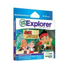 """LeapFrog - Cartouche de jeu Explorer : Disney Jake etLes pirates du pays imaginaire Version française - LeapFrog - Toys""""R""""Us """"Novaly"""""""