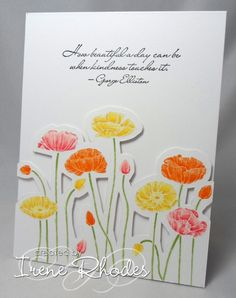 Pleasant Poppies   Fields of Kindness by DandI93 - Cards and Paper Crafts at Splitcoaststampers