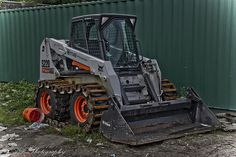 I've always wanted a skid steer, though it doesn't necessarily have to be a Bobcat