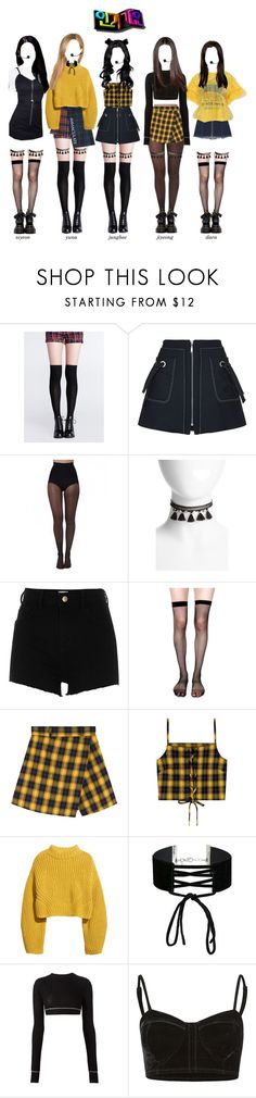 """《Comeback Stage》Delight Performs Love Game on Inkigayo"" by delight-official ❤ liked on Polyvore featuring Kenzo, Pretty Polly, Chan Luu, River Island, Lip Service, H&M, Miss Selfridge, Vera Wang, Full Tilt and Dr. Martens"