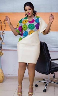 Ankara styles 514606694926083709 - Beautiful Latest Ankara Styles: check out 25 Beautiful and Trending Ankara styles for Slay Queen Source by bernartm Short African Dresses, Latest African Fashion Dresses, African Print Fashion, Africa Fashion, Nigerian Fashion, Modern African Fashion, Nigerian Clothing, African Fashion Designers, Ankara Fashion