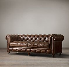 Genial The Petite Kensington Leather Sofas   Restoration Hardware | HOME .