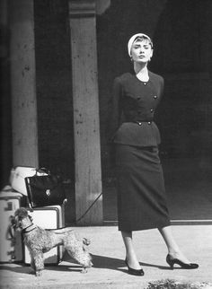 Might just  be my favorite Audrey outfit inspiration ever. Now to book a speaking engagement to have a reason...