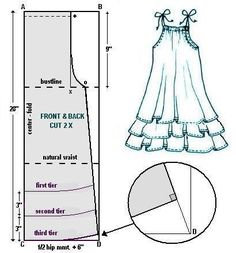 dress pattern ~~ this is a great basic pattern.