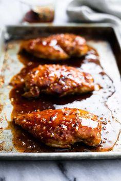 Baked Sweet & Spicy Chicken   Creme de la Crumb