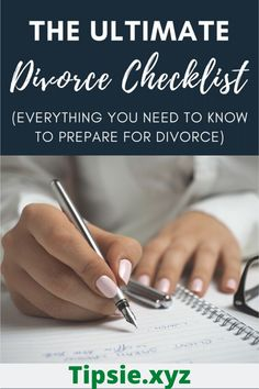 divorce We've put together the ultimate divorce checklist which lays out all of the information you will need to prepare for your divorce. This checklist includes tings like personal informat Divorce Lawyers, Divorce Humor, Divorce Quotes, Leadership Quotes, Preparing For Divorce, Dating After Divorce, Divorce Online, Dealing With Divorce, Divorce For Women