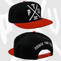 Pierce the Veil - Collide Snapback Hat Snapback Hats b649d4371fad