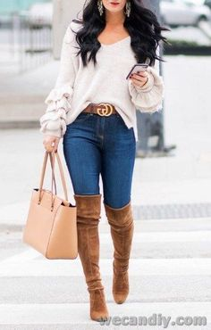 25 Perfectly Ideas Fall Outfits For Women 20 Fall Outfits Ideas for Women Casual Comfy and Simple Source by vollile fashion office Cute Fall Outfits, Fall Fashion Outfits, Fall Winter Outfits, Cute Fashion, Look Fashion, Chic Outfits, Autumn Winter Fashion, Womens Fashion, Fashion Trends