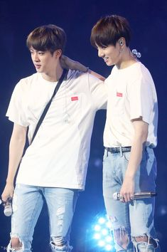Jin and Kookie Jungkook And Jin, Bts Bangtan Boy, Jimin, Bts Official Light Stick, Fandom, About Bts, Worldwide Handsome, Bulletproof Boy Scouts, Bts Boys
