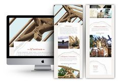 french joiner website design
