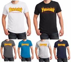 Thrasher t #shirt flame skateboard magazine men #women kids #birthday gift s-5xl,  View more on the LINK: http://www.zeppy.io/product/gb/2/302138726433/
