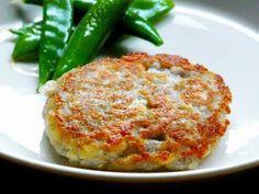 Vegan Japanese Recipe: Lotus Root Hamburger 2-Tofu version