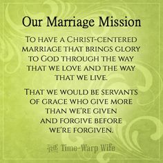 idea, futur, life, christ centered marriage, mission statements, marriag quot, inspir, marriag mission, hubbi