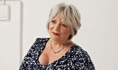 Alison Steadman To Present At Clapperboard Awards Older Women, Comedians, Short Hair Styles, Awards, Hair Cuts, Actors, Blouse, Image, Beautiful