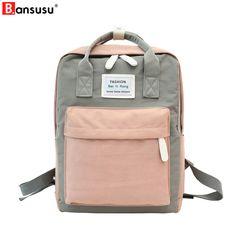 dca085dca294c Plecak Harajuku Ulzzang Wodoodporny plecak damski Nylon Fresh Preppy Style  Studenci torba podróżna do wielu zastosowań