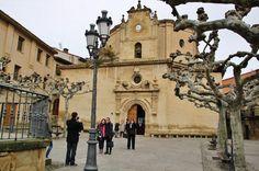 Ermita de la Virgen de la Plaza en Elciego en Rioja Alavesa