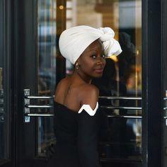 Beautiful portrait fashion week London