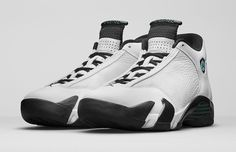 This is the Air Jordan 14 Oxidized Green (2016) official launch page. View detailed images, the latest info and release details.