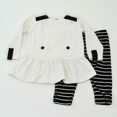 Mini Fashionista | Baby Girl 9-12 Months | babyGap Shirt and Leggings | 11 Pieces for $38