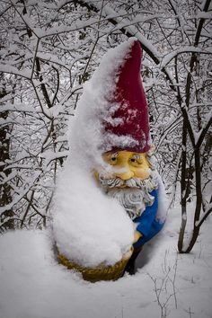 Google Image Result for http://images.fineartamerica.com/images-medium-large/garden-gnome-in-winter-no85-randall-nyhof.jpg
