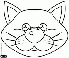 rostos de animais para colorir - Pesquisa Google